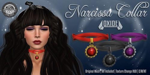 OXIDE Narcissa Collar - Hocus Pocus 2016