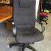 Charcoal high back swivel chair â¬60