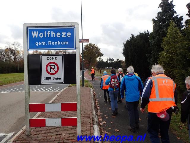 2016-11-16    3e Rondje-WolfHeze   25 Km  (158)