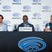 M. Night Shyamalan, Djimon Hounsou and Jason Patric