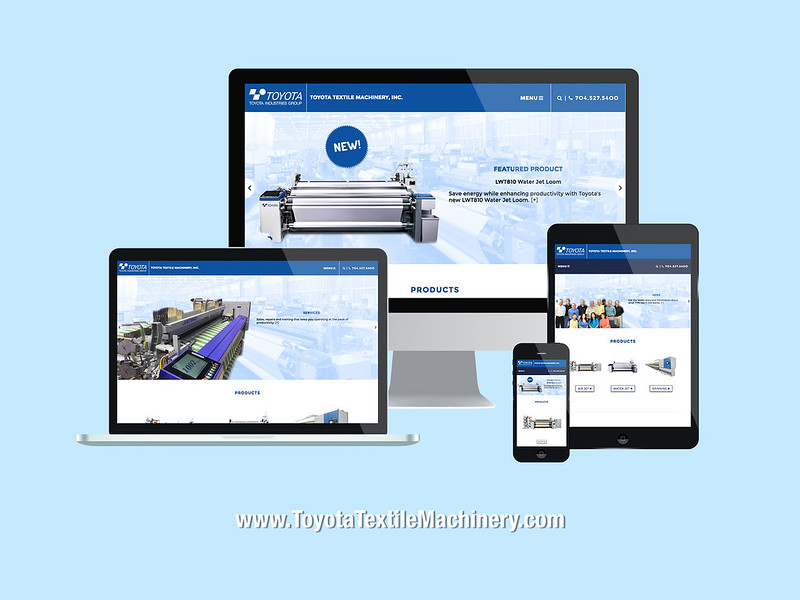 Toyota Responsive Website