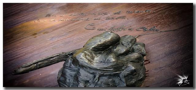 Monumento a Camilo José Cela, (1993).