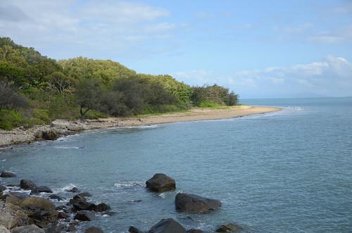 water coast sea queensland australia oakbeach