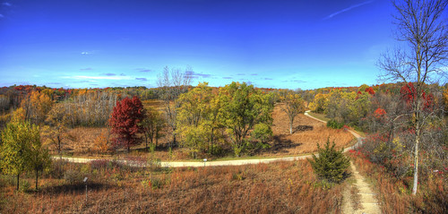 blue trees panorama 3 color fall nature minnesota canon landscape eos skies mark iii 5d hdr minnetonka 19mm photomatix