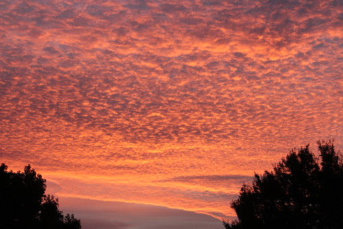 morning sky clouds sunrise reds yolocounty westsacramento