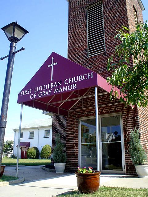 Church Entry Awning