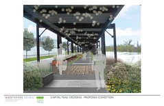 Capital Trail Crossing Proposed Condition