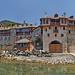 Greece, Macedonia, Mount Athos, Xenophontos Greek Orthodox monastery (founded 997), Chalkidiki, Aegean Sea