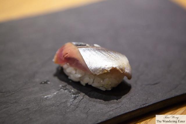 Sanma (Mackerel Pike) sushi