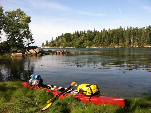 camping kayak maine kayaking vinalhaven iphone iphone4 littlehenisland
