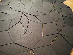 Penrose tiling 10-fold radial symmetry