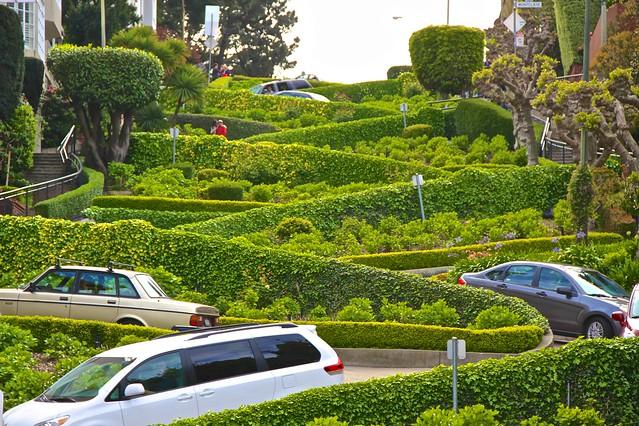 Lombard Street, San Francisco, CA, KW