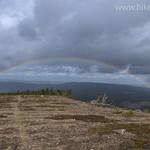 Rainbow over Lee Ridge