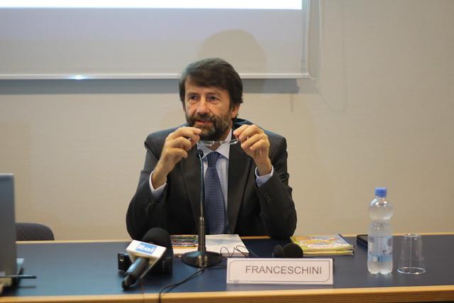 Dario Franceschini - Frankfurt Buch Fair