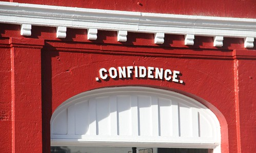 .CONFIDENCE.   by sandwichgirl