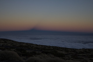 The Belt of Venus with the shadow of Teide