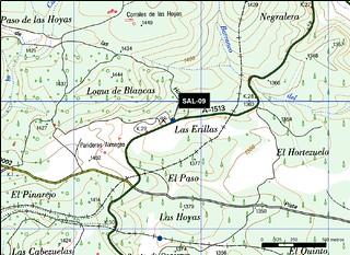 SAL_09_M.V.LOZANO_POZO HOYA CODES_MAP.TOPO 2