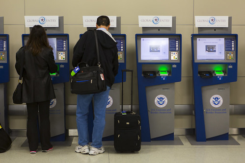 APC and Global Entry Kiosks | by CBP Photography