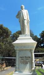 James Martin Statue restoration October 2014 (1)
