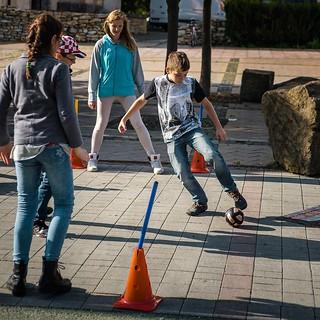 Children play sports - Banská Bystrica - © M. Dubovský, Občianska Cykloiniciatíva