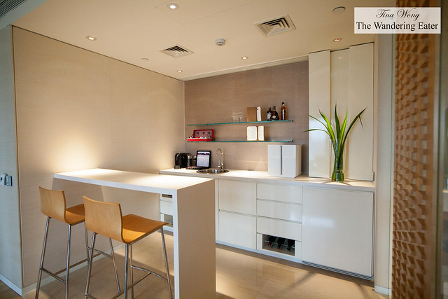 Kitchenette area at the Grand Deluxe King room