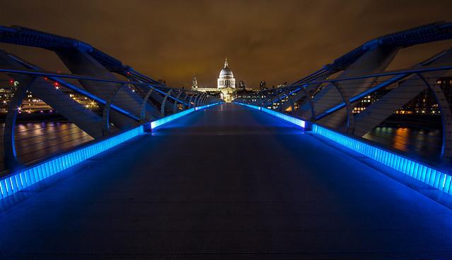 St. Paul's From The Millenium Bridge.