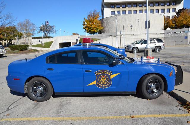 Port Huron, MI Photo: Michigan State Police Dodge Charger Vehicle
