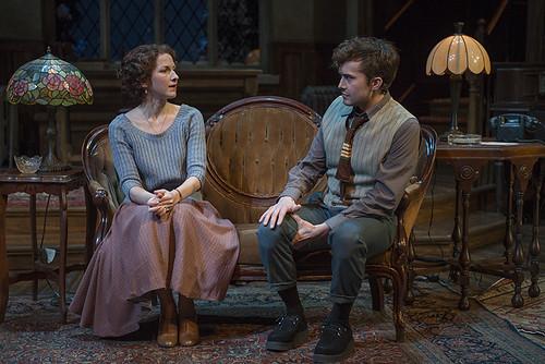Cora Vander Broek (Mollie Ralston) and Joey deBettencourt (Christopher Wren)