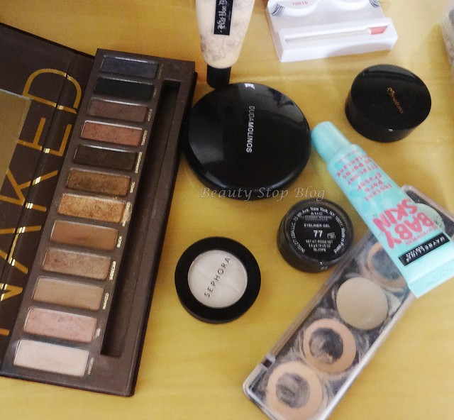 produtos usados makeup sephora eye shadow beauty stop blog bruna reis