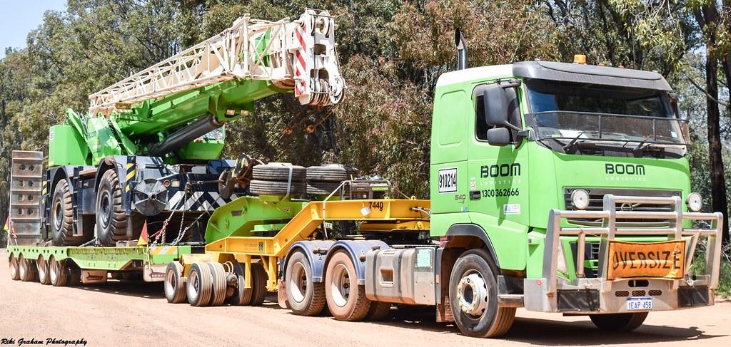 Boom Logistics Volvo FH | Riki Graham | Flickr
