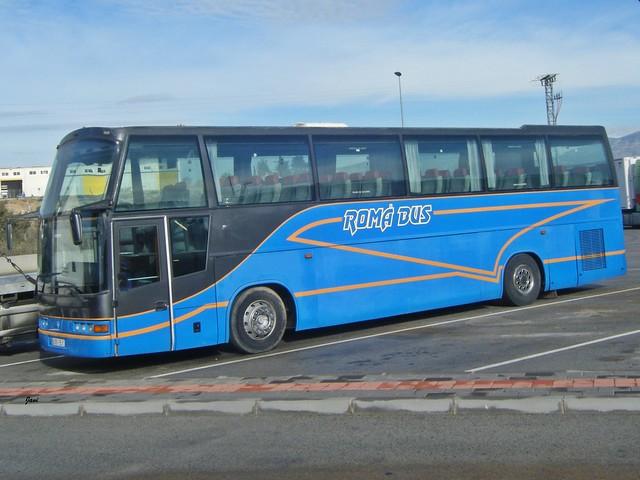 Noge Vesubio Scania de Romá Bus