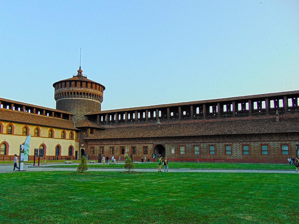 Sforza Castle in Milan