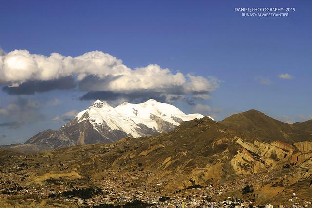 La Paz y su topografía (Explore 18/10/2015)