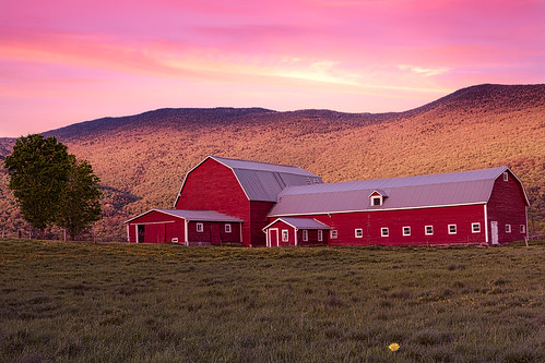 spring barn sunset vermont book flower stowe landscape red unitedstates us