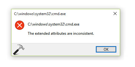 FIX] The Extended Attributes Are Inconsistent Error In Wi\u2026 | Flickr