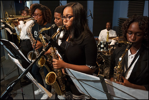 Cuttin' Class at the WWOZ Studio on October 13, 2016. Photo by Ryan Hodgson-Rigsbee (rhrphoto.com)