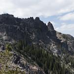Heading up to Sepulcher Mountain Summit