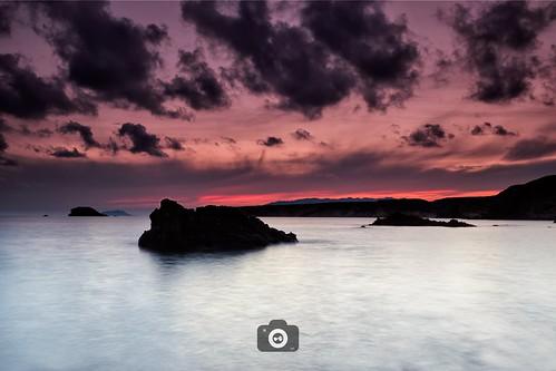 sea mar clouds nubes landscape paisaje larga exposicion long exposure colors canon 80d 1022 10mm murcia bolnuevo spain sky