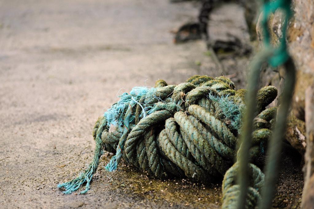 Marine Rope | Old Harbor - Biarritz | YellowSingle 单黄 | Flickr