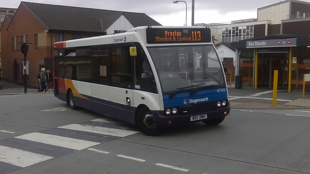 Stagecoach Merseyside & South Lancashire, Optare Solo M850,  W311 DWX (47742)