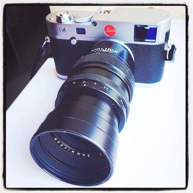 Leica Summicron 90mm f2 Pre-ASPH