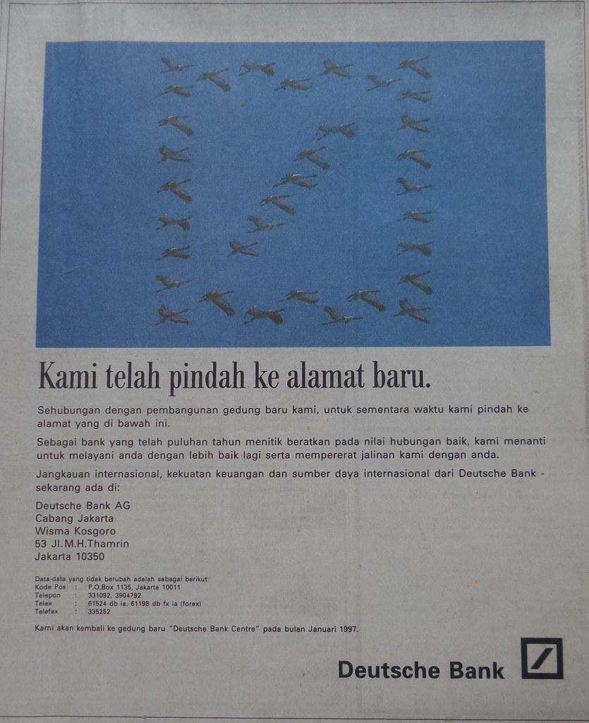Deutsche Bank, Kompas 19 Desember 1994