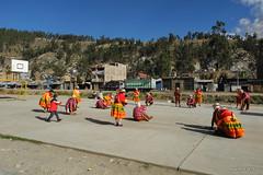 Traditional dance in Andahuaylas