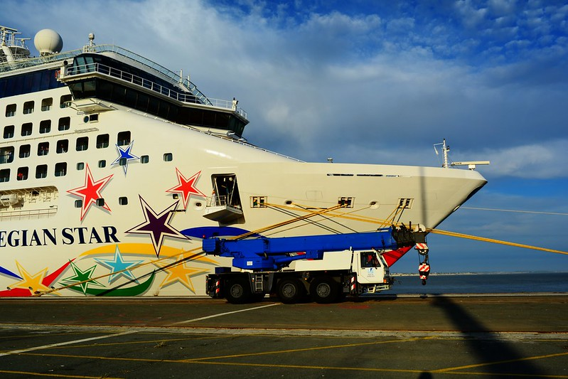 Norwegian Star - Maiden call - Bordeaux / Le Verdon - 05 octobre 2016