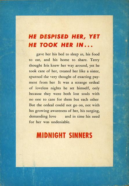 Carnival Books 945 - John Caldwell - Midnight Sinners (back)