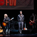 Tue, 29/11/2016 - 7:46pm - Holiday Cheer for FUV, WFUV Public Radio in New York City. Amos Lee & Friends, with Lucinda Williams, Corinne Bailey Rae and The Record Company. The Beacon Theatre, 11/30/2016. Photo by Gus Philippas.