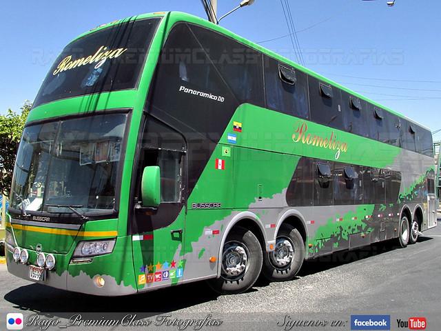 Busscar Panoramico DD / Scania / Romeliza