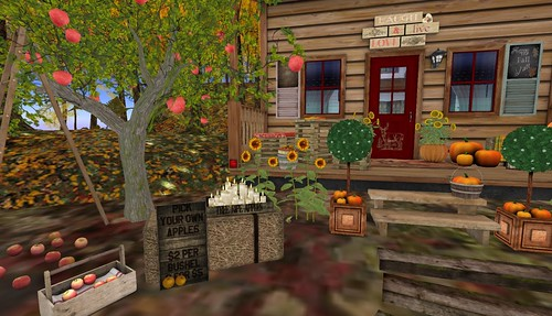 Dreamscapes Art Gallery-VIP Haybale | by Hidden Gems in Second Life (Interior Designer)