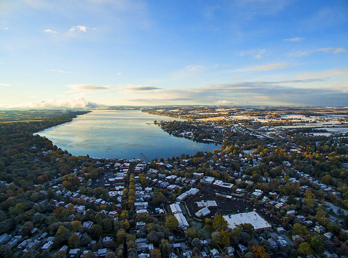 morning autumn winter cold fall sunrise aerial firstsnow aerialphotography drones drone skaneateleslake skaneateles dji djiphantom3