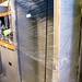 New tall tambour metal storage unit